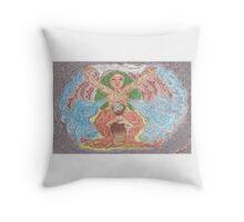 Goddess - Gaia Throw Pillow