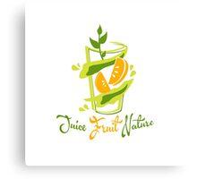 Juice Fruit Nature Canvas Print