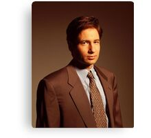 Fox Mulder Canvas Print