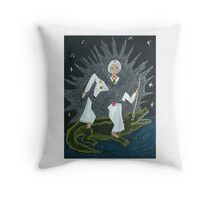 Goddess Akhilandeshvari Throw Pillow