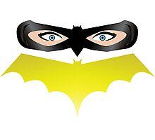 Bat Mask Photographic Print
