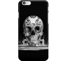 Pulled sugar, melting sugar skull  iPhone Case/Skin
