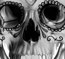 Pulled sugar, melting sugar skull  Sticker
