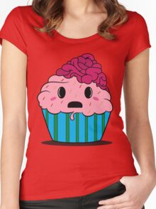 Cupcake brains Women's Fitted Scoop T-Shirt