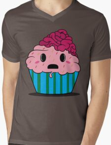 Cupcake brains Mens V-Neck T-Shirt