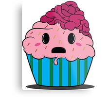 Cupcake brains Metal Print