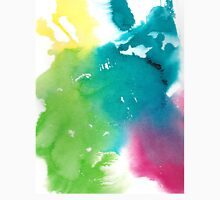 Technicolor Watercolor (vertical) Unisex T-Shirt