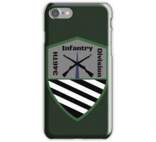 346th Infantry Division Logo iPhone Case/Skin