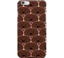 Ours brun  iPhone Case/Skin