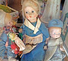 Dolls on Polk Street by Barbara Wyeth