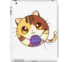 Cute Cartoon cat iPad Case/Skin