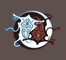Rin Vang (Raava x Vaatu - Yin Yang) One Piece - Short Sleeve