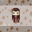 Chibi Elrond by artwaste
