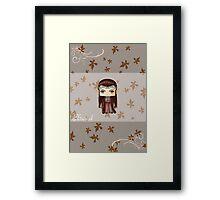 Chibi Elrond Framed Print