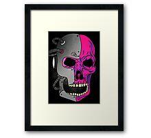Skull D47 Framed Print