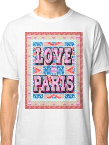 Fashion Country style patchwork gifts. Classic T-Shirt