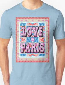 Fashion Country style patchwork gifts. Unisex T-Shirt