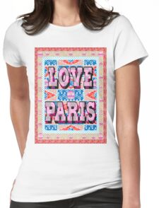 Fashion Country style patchwork gifts. Womens Fitted T-Shirt