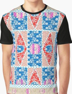 Fashion Country style patchwork gifts. Graphic T-Shirt