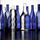 Cobalt Bottles by venny