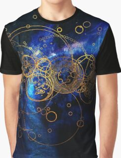 Time Lord Writing Graphic T-Shirt