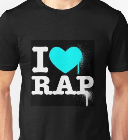 I Love Rap Unisex T-Shirt
