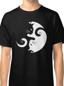 Yin Yang Cats Classic T-Shirt