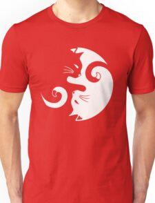 Yin Yang Cats Unisex T-Shirt