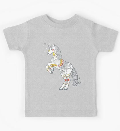 Mandala Unicorn Kids Clothes