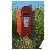 Country Post Box Poster