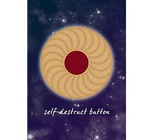 Doctor Who - Self-Destruct Button Photographic Print