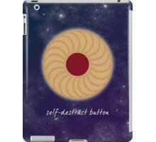 Doctor Who - Self-Destruct Button iPad Case/Skin