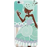 Ice Cream Princesses - Mint Chocolate Chip iPhone Case/Skin