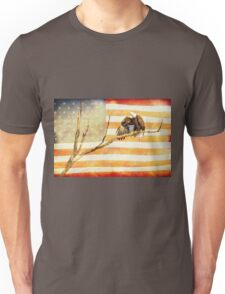 American Bald Eagle Salute Unisex T-Shirt