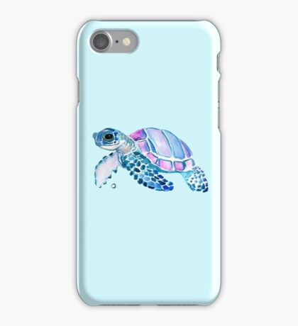 Lovely Turtle iPhone Case/Skin
