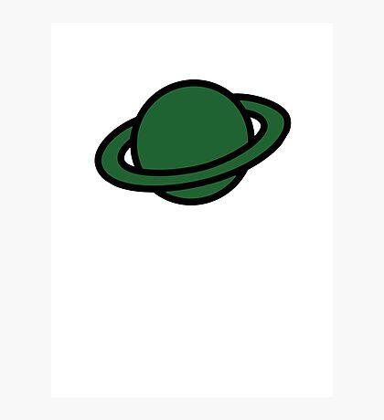 Captain Saturn Photographic Print