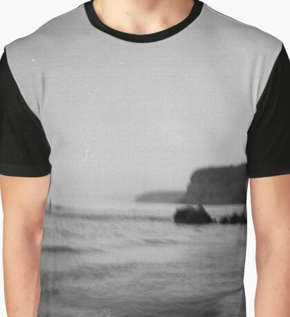 Disturbance of the silent sea Graphic T-Shirt