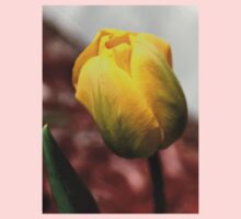 Lonely Yellow Tulip Kids Clothes