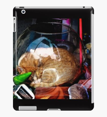 Ironic Cat iPad Case/Skin