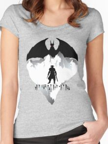 Dovahkiin Women's Fitted Scoop T-Shirt