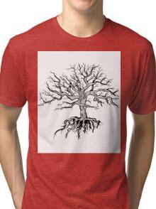 Silhouette of tree Tri-blend T-Shirt