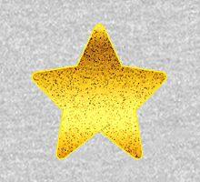 Glitter Graphic Gold Unisex T-Shirt