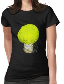 A Bright Idea About Cabbage Womens Fitted T-Shirt