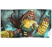 Kraken Priestess Poster