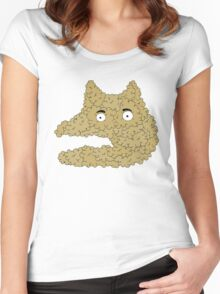 bubbledoggy Women's Fitted Scoop T-Shirt