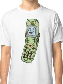 happy cellphone Classic T-Shirt
