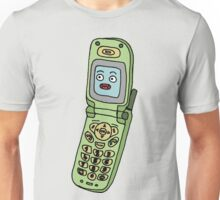 happy cellphone Unisex T-Shirt