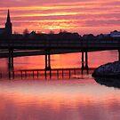 Sunrise in Red by Jo Nijenhuis
