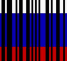 Made in Russia Barcode Sticker