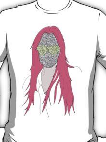 mistery mask girl T-Shirt